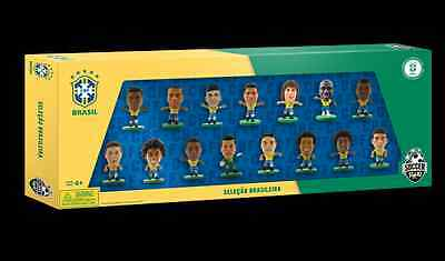 Soccerstarz Brazil 15 Player 2014 World Cup Team Pack New Fifa