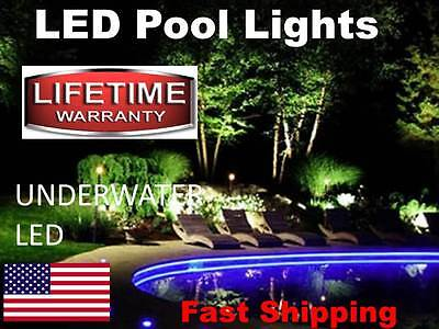 SWIMMING POOL lights - L.E.D. - use to light up pool or pool ladder - steps -NEW