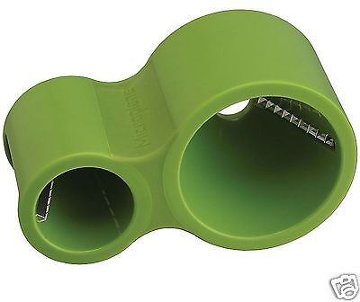 Microplane Spiral Ribbon Vegetable Dual Cutter Slicer Green 0948709