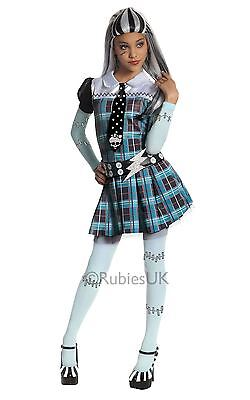 Girls Frankie Stein Frankenstein Monster High Kids Tv Fancy Dress Costume Outfit