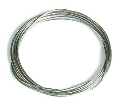 BOWDEN CONTROL CABLE / WIRE LOCKING 1.25mm OD 1.9mm OD VARIOUS LENGTHS