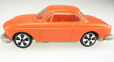 FALLER Hit Car - BMW 2000 CS - orange - Modellauto - Model Car