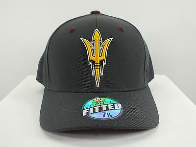 Arizona Sun Devils Ncaa Fitted Hat (7 1/4) Size New Cap By Zephyr (D43)
