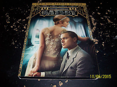 The Great Gatsby!! Used & In Mint Condition!! Leonardo Dicaprio!! New Version!!