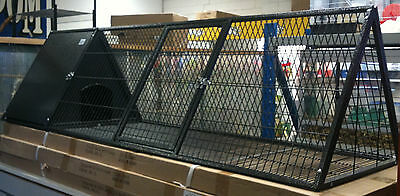 Triangle Metal Rabbit Guinea Pig Hutch Cage 180cm PICK UP AVAILABLE