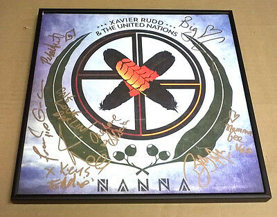 XAVIER RUDD & THE UNITED NATIONS Signed + Framed Nanna Record Album PROOF