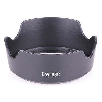 EW-63C EW63C Camera Lens Hood for Canon EF-S 18-55mm f/3.5-5.6 IS STM Lens free