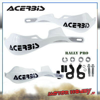 PARAMANI ACERBIS RALLY PRO ALLUMINIO ENDURO MOTARD (KIT D.22mm – D.28.6mm BIANCO