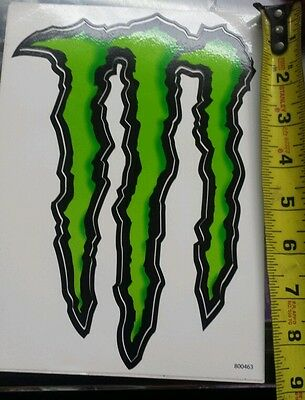 """Large Monster Energy Drink Decal Sticker 8 1/2"""" x 6"""" ATV/Truck/Motorcycle"""