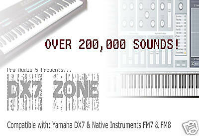 200,000 PATCHES FOR Yamaha DX7 and KORG Kronos - £5 99 | PicClick UK