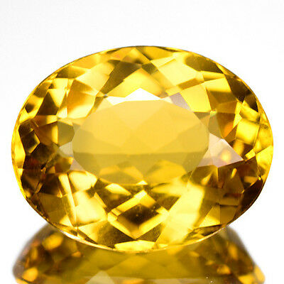 4.03 Cts Elegant Top Quality Golden Yellow Color Natural Beryl Refer Video