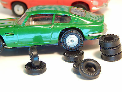 8 urethane tires for Ho slotcar  Minic  Uk