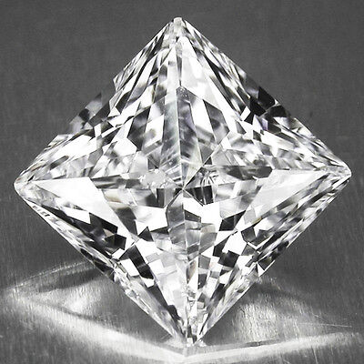IF SQUARE RUSSIAN SIMULATED LAB DIAMOND 6AAAAAA LOOSE STONES(1.25x1.25 -25x25mm)