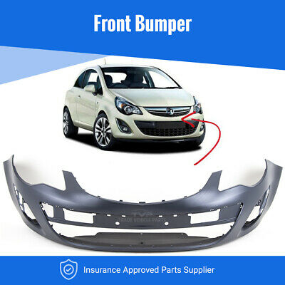 Vauxhall Corsa D 2011-2014 Front Bumper Primed New Insurance Approved