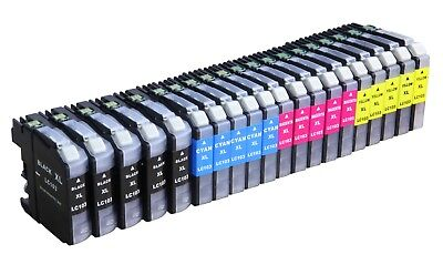 20 Pack LC103 Compatible Ink Cartridge For Brother DCP-J152W MFC-J475DW Printer
