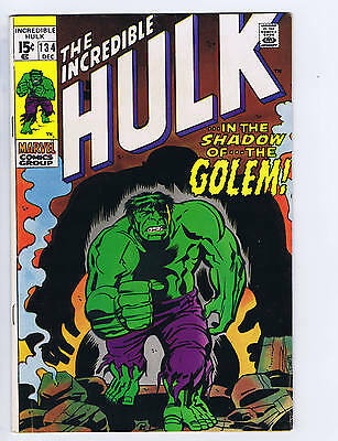 Incredible Hulk #134 Marvel 1970