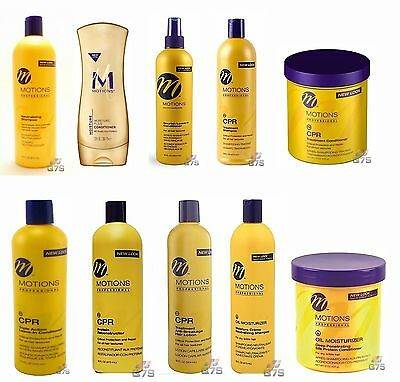 Motions Professional Hair Products- Whole Range