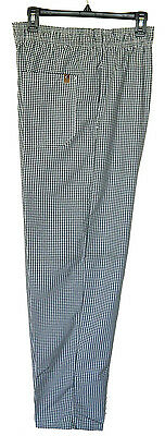 Chef Design Checkered Baggy Chef Pant w/ Drawstring (Pre-Owned & Laundered)