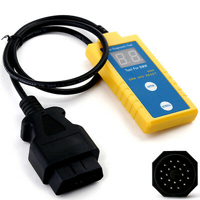 B800 SRs OBD2 Reset Tool Airbag Diagnosegerät 16-20Pin Adapter Für BMW 1994-2003