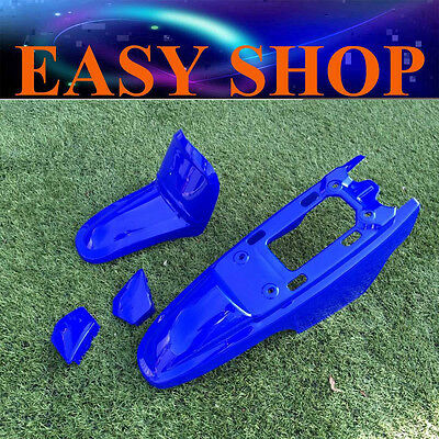 BLUE Plastic Fender Kit Body Cover Fairing For Yamaha PW50 PY50 Peewee 50 Bike
