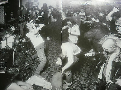 Napalm Death # 4 Page Article