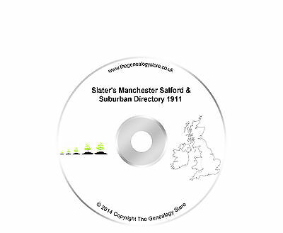 Slater's Manchester Salford & Suburban Directory 1911