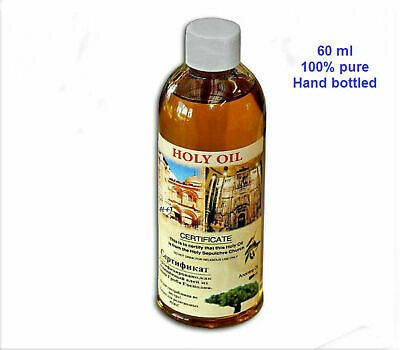 Certificated blessed 60 ml S bottle of holy land Anointing oil from Jerusalem