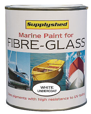 Marine Boat Undercoat WHITE Paint for Fibreglass and GRP 750ml