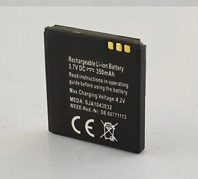 1x 3.7v 350mAh Battery For Smart Wrist Watch Hi watch 2 UPRO Accessories