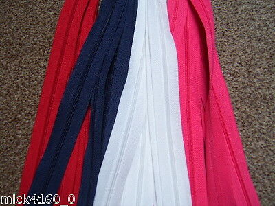 Closed End Zips - 11 Colours , 5 inch to 22 inch  Dress Skirt Trouser Cushion