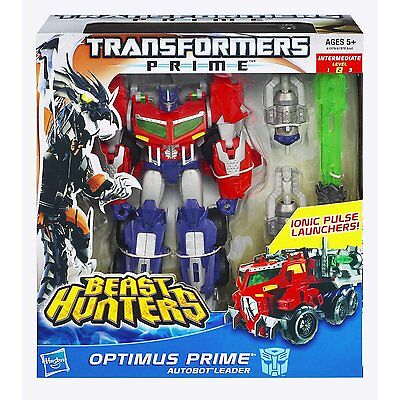 Optimus Prime Autobot Beast Wars Voyager Class Level 2 Transformers Figur Hasbro