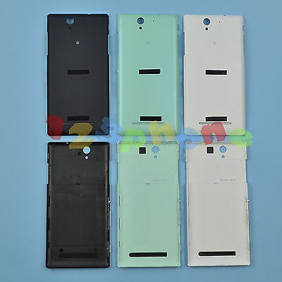 Rear Back Door Housing Battery Cover Case For Sony Xperia C3