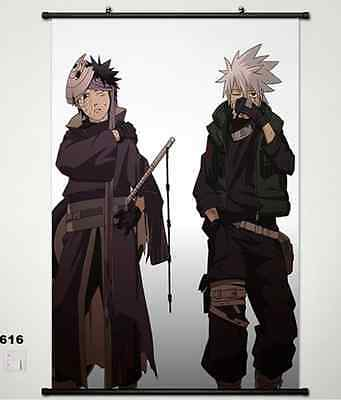 Home Decor Japanese Wall poster Scroll Naruto Shippuden Kakashi Hatake Art 616