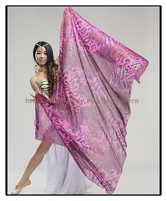 New Arrival 2015 Shinning Belly Dancing Costumes Veil Scarf Shawl Stage Gold