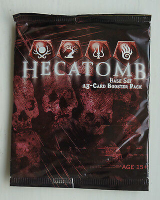 HECATOMB TCG!! 13 Card Sealed Booster Pack!!