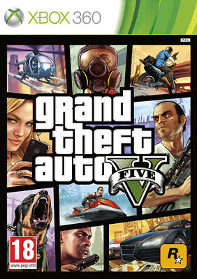 Grand Theft Auto V GTA 5 D1 Day One Edition XBOX 360 TAKE TWO INTERACTIVE