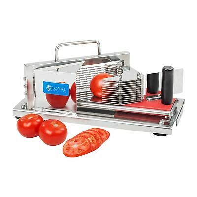Manual Vegetable Cutter Tomato Slicer Stainless Steel 5.5 Mm Thickness Precise