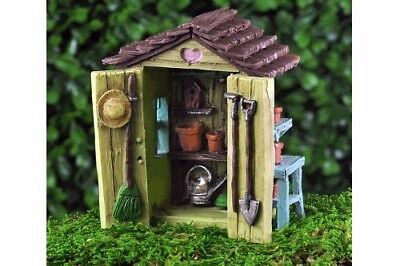 My Fairy Gardens Mini - Garden Shed - Supplies Accessories