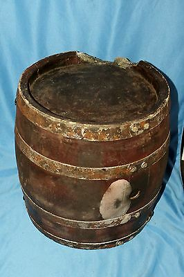 Season of the Witch Faux Wooden Barrel Background Movie Prop Nicolas Cage