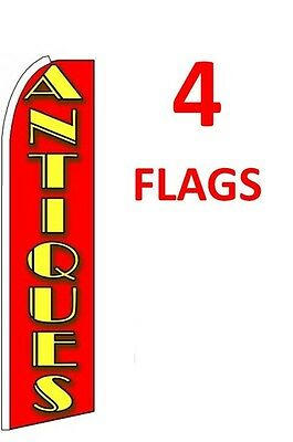five WHEELS red//yel 15 WINDLESS SWOOPER FLAGS KIT 5
