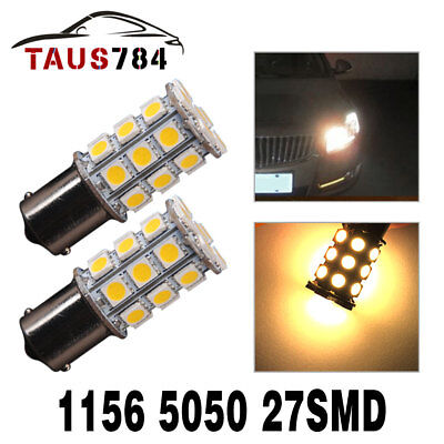 4x 1157 BAY15D White 22smd Car Tail Stop Brake Light Super Bright LED Bulb US