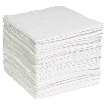 """WPB200S - Oil Only Absorbent Pads - 200 Pads Per Case, 15"""" x 19""""  White (WP-S)!!"""