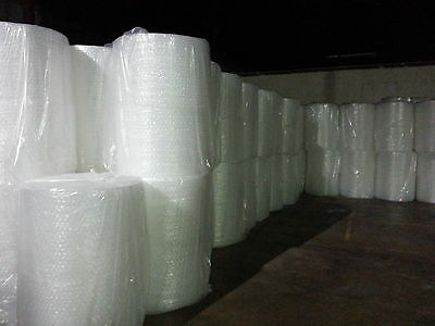 "Large 1/2"" Bubble Cushioning Wrap Film 12"" X 125'"
