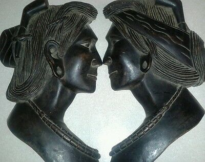 Antique tribal wood carving (lot 2) Estate find