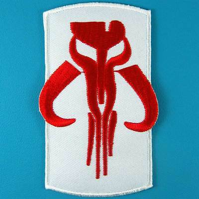 Star Wars Boba Fett Mandalorian Bounty Hunter Embroidered Iron on Patch