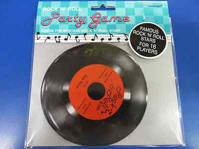 50's Rock & Roll Sock Hop Diner Theme Party Activity Mystery Star Party Game