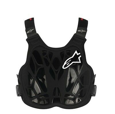 Alpinestars NEW Kids A8 Black Youth Motocross Chest Protector Roost Body Armour