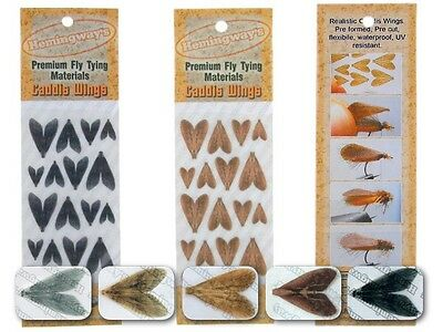 Hemingway's Caddis Wings Mix 4 sizes / fly tying materials