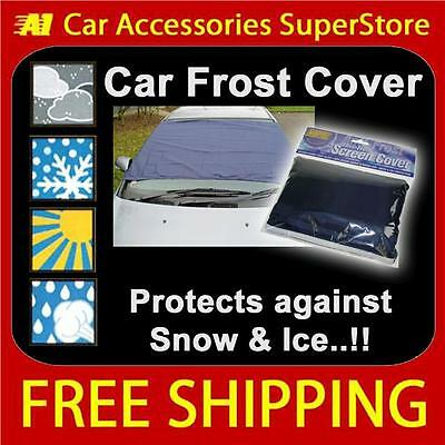 Ford Car Anti Frost Snow Screen Cover All Weather + FREE Storage Bag