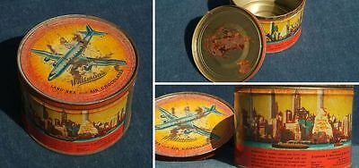 Blechdose Whitman´s Land, Sea and Air Chocolates; 50er Jahre